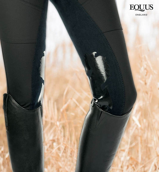 Cavallino Marino Atlantis Full Seat Breeches with Silicone Front View
