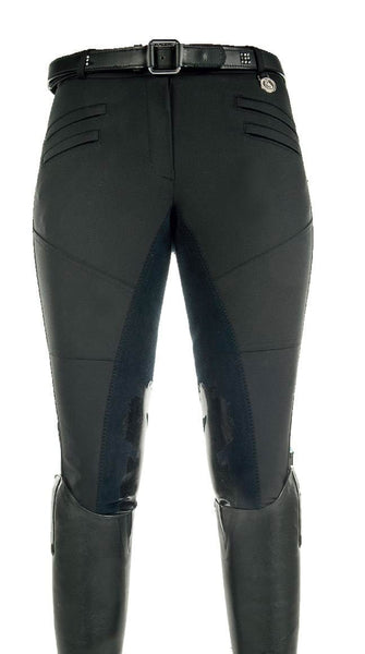 Cavallino Marino Atlantis Full Seat Breeches with Silicone in Deep Blue
