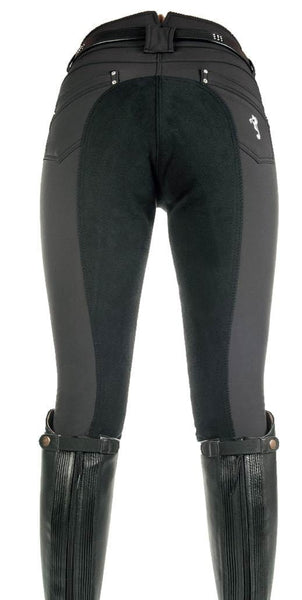 Cavallino Marino Atlantis Softshell Full Seat Breeches Rear View