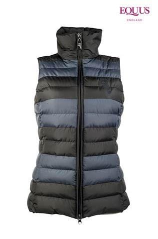 Cavallino Marino Atlantis Sporty Quilt Vest in Midnight Blue