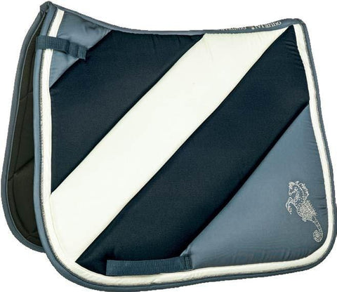 HKM Cavallino Marino Atlantis Stripes Saddle Pad