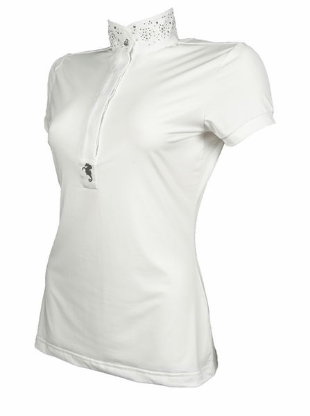 HKM Cavallino Marino Seaside Ladies Competition Shirt Side View