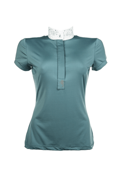 HKM Cavallino Marino Seaside Ladies Competition Shirt In Azure