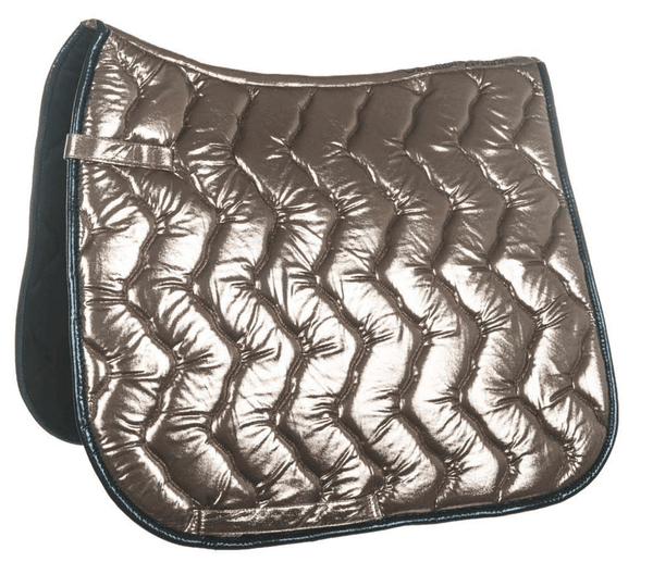 HKM Cavallino Marino Seaside Metallic Saddle Cloth - GP / Sand | EQUUS