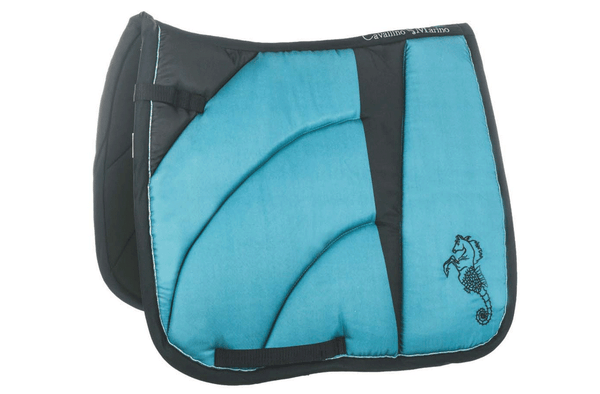 HKM Cavallino Marino Seaside Wave Saddle Cloth - EQUUS