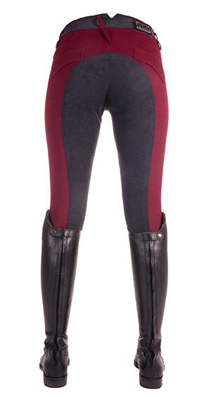 HKM Pro Team Country Life Young Three Quarter Seat Breeches Rear View