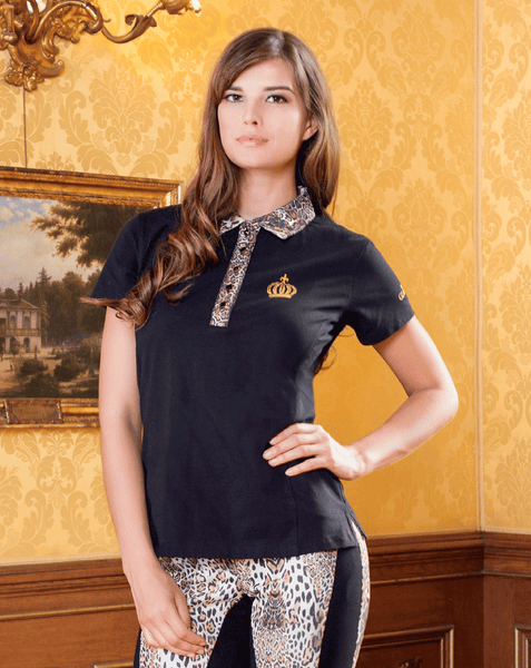Gloockler Animal Print Polo Shirt - EQUUS