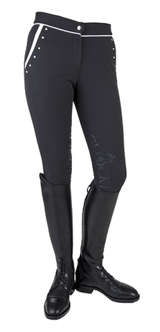 Gloockler Crystal Crown Softshell Breeches Front View