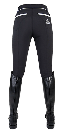 Gloockler Crystal Crown Softshell Breeches Rear View