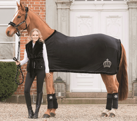 HKM Gloockler Royal Fur Anti Sweat Rug