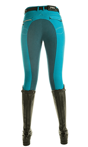 HKM Pro Team Helsinki Three Quarter Seat Breeches Rear View