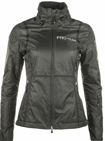 HKM Pro Team Boston All Weather Riding Jacket in Navy