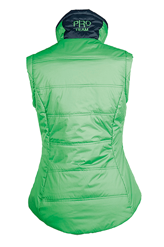 HKM Pro Team Global Team Gilet Rear View