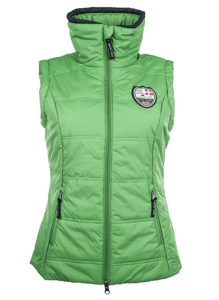 HKM Pro Team Global Team Gilet in Grass Green