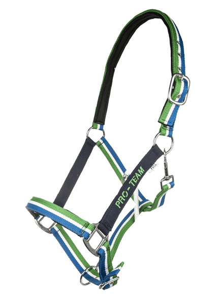 HKM Pro Team Global Team Headcollar in Deep Blue
