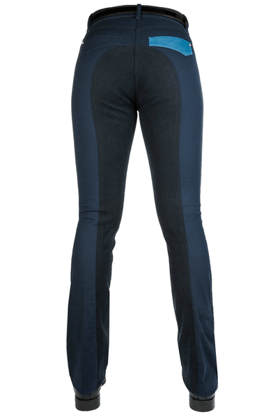 HKM Pro Team Global Team Pocket Flap Jodhpurs Rear View