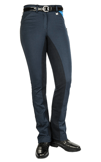 HKM Pro Team Global Team Pocket Flap Jodhpurs Side View