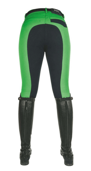 HKM Pro Team Global Team Pocket Flap Three Quarter Seat Breeches Rear View