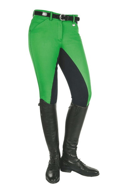 HKM Pro Team Global Team Pocket Flap Three Quarter Seat Breeches Side View
