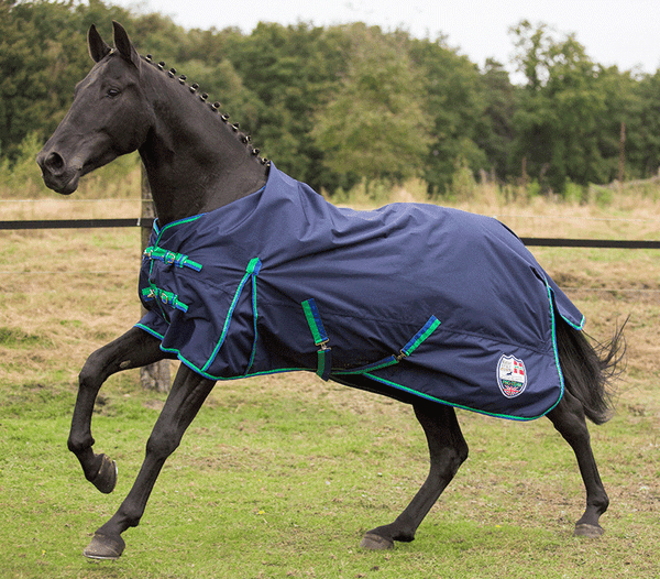 HKM Pro Team Global Team Rug with Fleece Lining - EQUUS