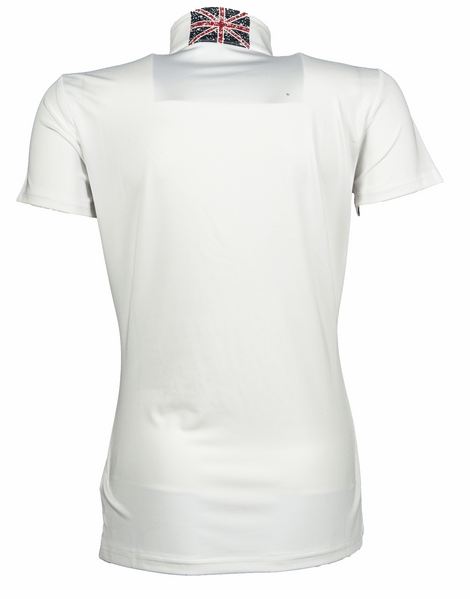 HKM Pro Team Global Team Short Sleeved Competition Shirt Rear View
