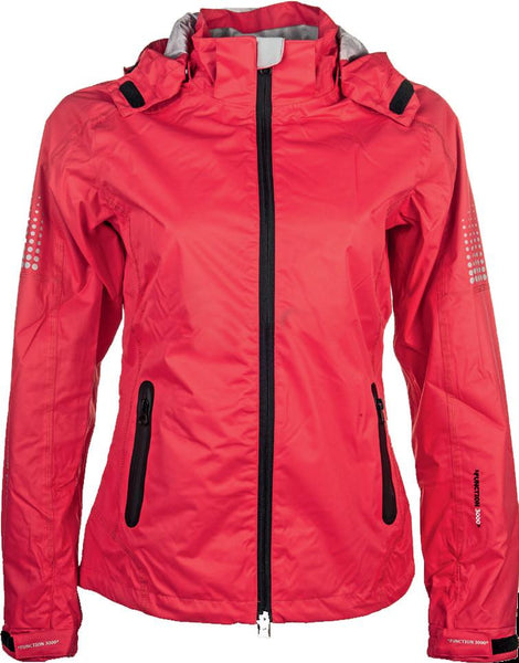 HKM Sky Riding Jacket in Red Front View