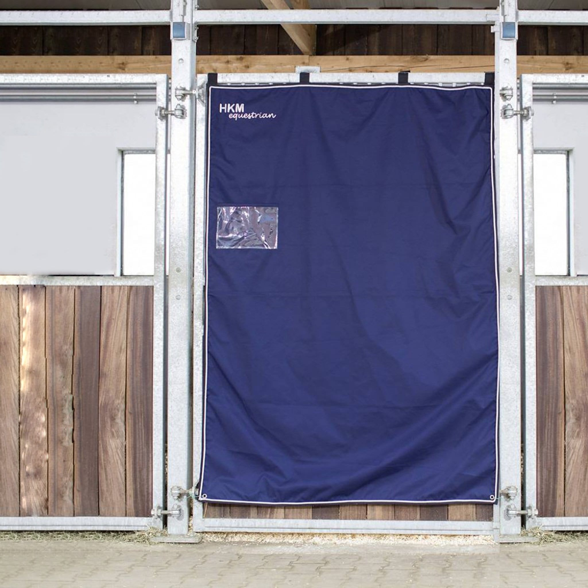 HKM Box Curtain in Deep Blue 9816