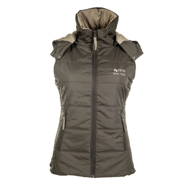 HKM Augsburg Riding Vest in Brown 8300/2400
