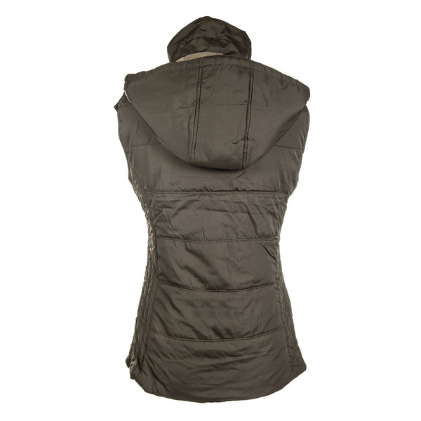 HKM Augsburg Riding Vest in Brown Rear View 8300/2400
