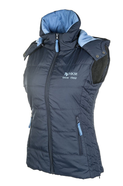 HKM Augsburg Riding Vest - XS / Deep Blue | EQUUS