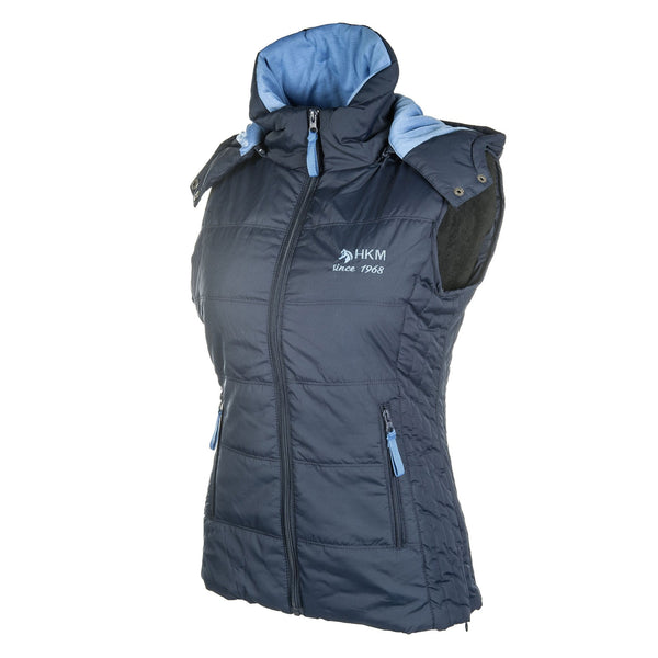 HKM Augsburg Riding Vest in Deep Blue 8300/6900