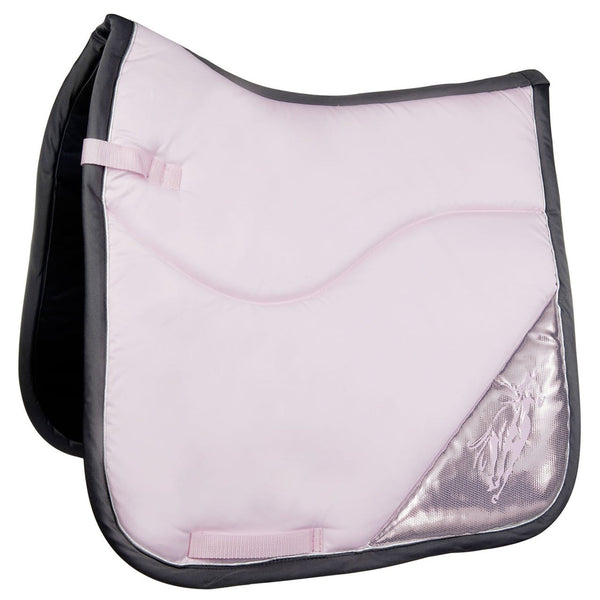 HKM Cavallino Marino Rimini Contrast Saddle Cloth in Rose 9139