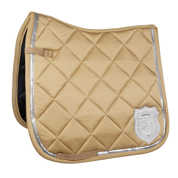 HKM Cavallino Marino Rimini Saddle Cloth in Camel 9513