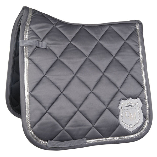HKM Cavallino Marino Rimini Saddle Cloth in Dark Grey 9513
