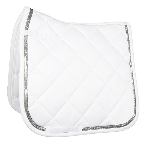 HKM Cavallino Marino Rimini Saddle Cloth in White 9513