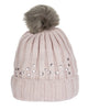HKM Cavallino Marino Copper Kiss Bobble Hat in Rose