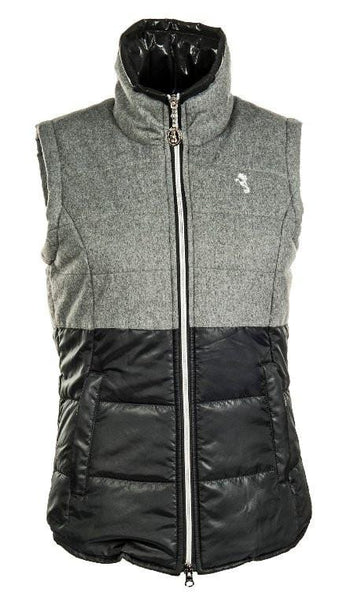 HKM Cavallino Marino Arctic Riding Vest in Grey and Black