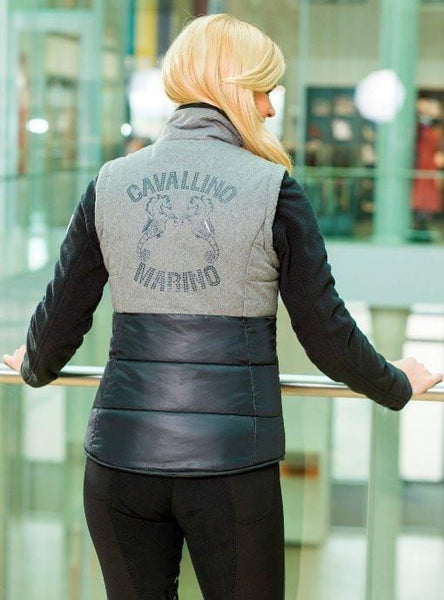 HKM Cavallino Marino Arctic Riding Vest Rear View