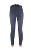 HKM Cavallino Marino Siena Piping 3/4 Seat Breeches Anthracite Studio Rear View 8705/9696
