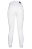 HKM Cavallino Marino Siena Piping 3/4 Seat Breeches White Rear View 8705/1212