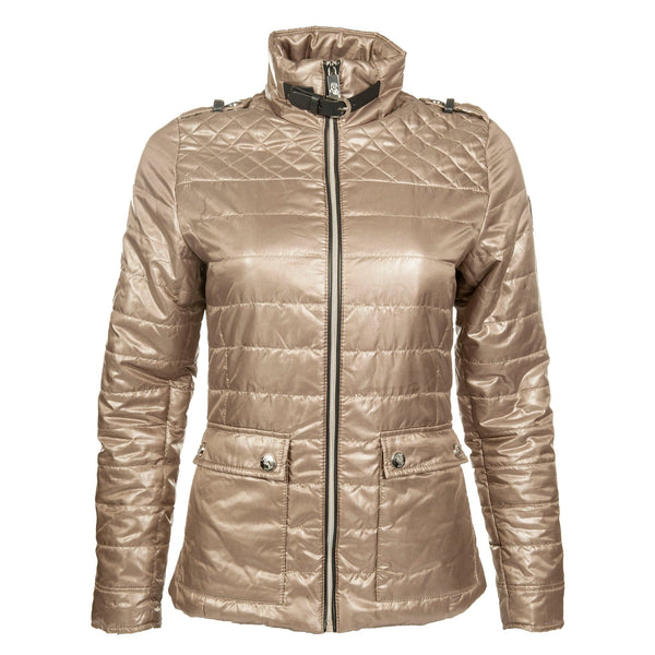 HKM Cavallino Marino Silver Stream Quilted Riding Jacket 7348 1500