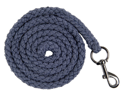 HKM Cavallino Marino Soft Powder Lead Rope with Snap Clip in Blue