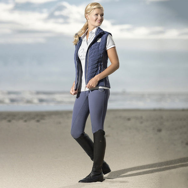 HKM Cavallino Marino Soft Powder Riding Gilet - EQUUS