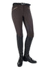 HKM Crystal Silicone Full Seat Breeches in Dark Brown 9540