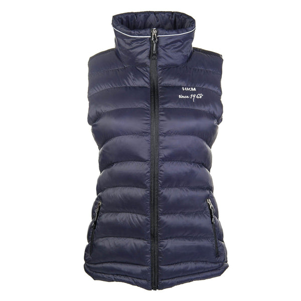 HKM Extra Light Riding Waistcoat in Deep Blue 8180/6900