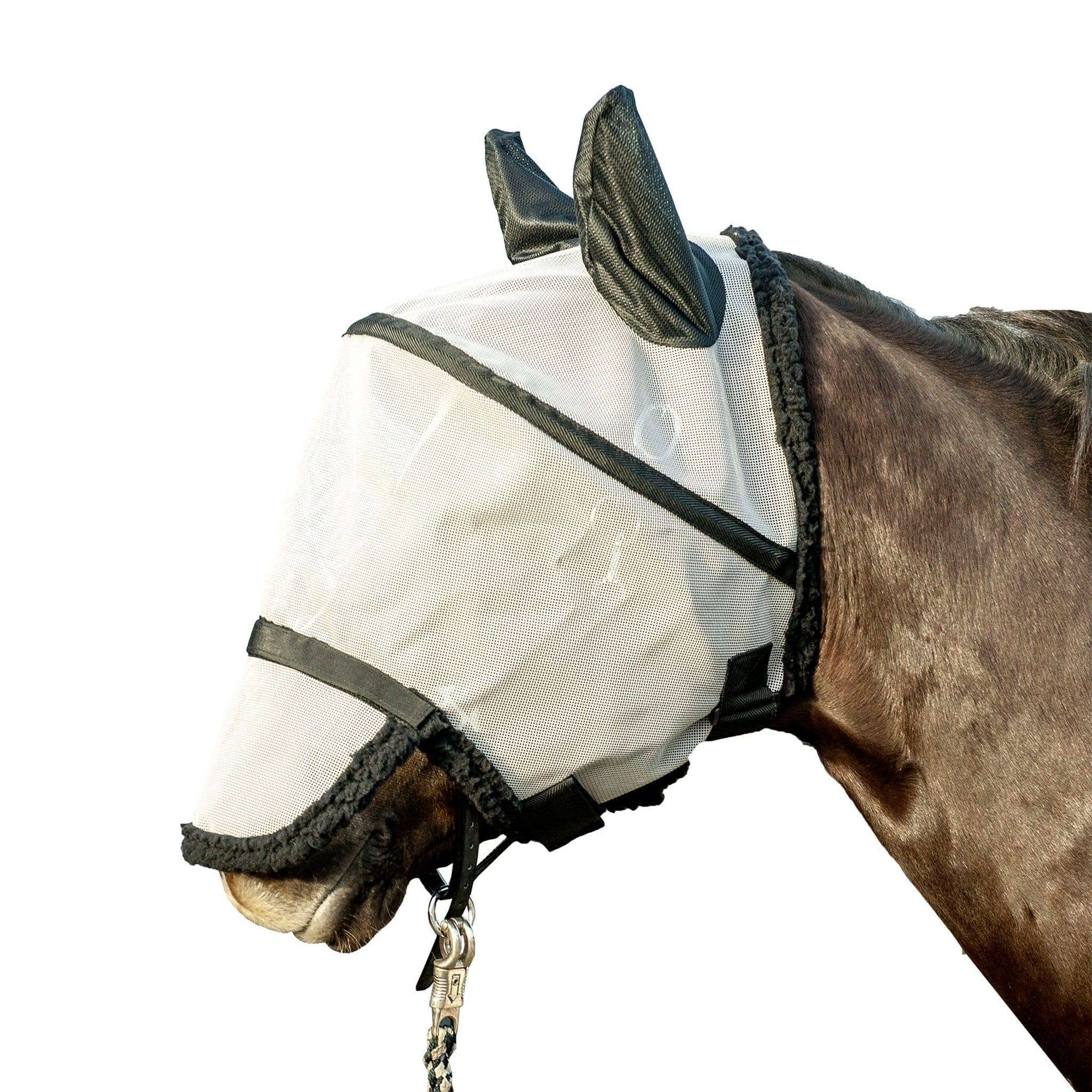 HKM Fly Mask With Nostril Protection 8127