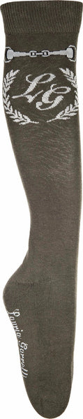 HKM Lauria Garrelli Paris Bit Children's Riding Socks in Deep Green