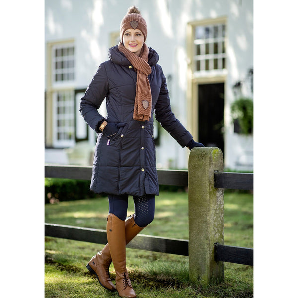 HKM Lauria Garrelli Paris Down Coat Lifestyle Front View 7009/6900