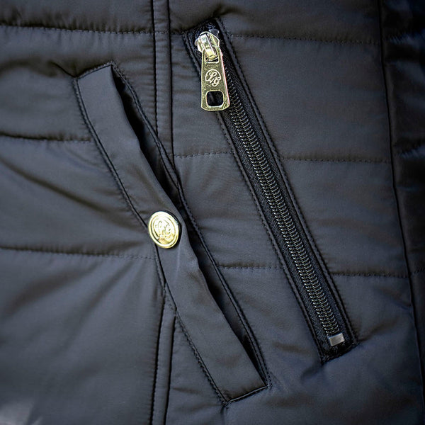 HKM Lauria Garrelli Paris Down Coat Pocket Detail 7009/6900