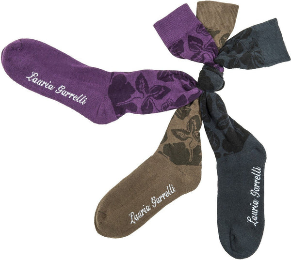 HKM Lauria Garrelli Paris Flower Riding Socks